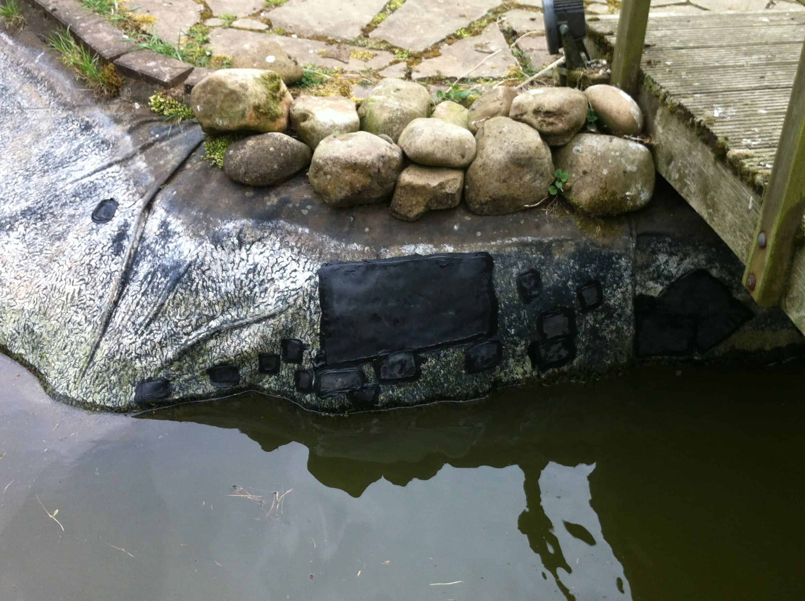 Gallery repairs pond works for Giant koi pond
