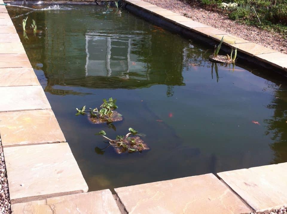 Gallery pond works for Fibreglass fish ponds