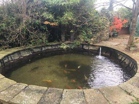 Gallery repairs pond works for How deep should a koi pond be