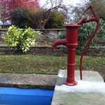 Refurbished and converted old pump