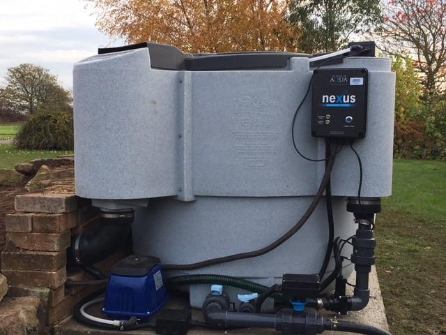 Gallery koi ponds pond works for Nexus pond filter setup